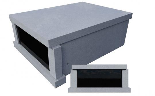 TS1536 - Flat Roof Fixed Columns