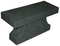 Flat Top Pedestal Bench