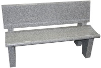 TSS1254 Garden Bench Unit - Newbury Gray