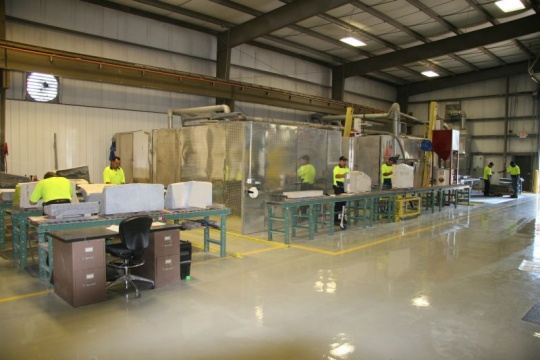 Tecstone's Production Facility