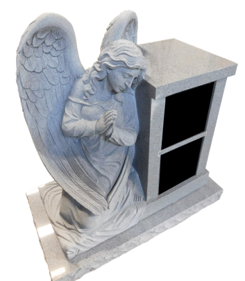 2 Niche columbarium with sculpted angel