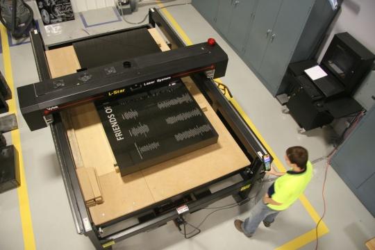 Tecstone Vytek610 Laser Etching