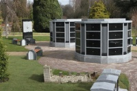 Columbaria Cremation Feature