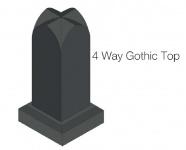 4 way gothic top