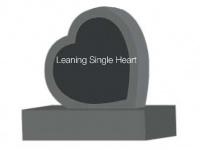 Leaning Single Heart