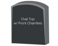 Oval Top with Chamfers