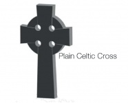 Plain Celtic Cross