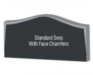 Serp face chamfers