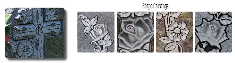 Shape Carvings Tecstone Granite