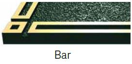 Bar Bronze Border