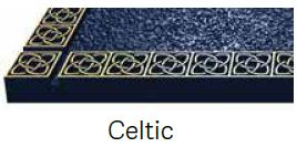 Celtic Bronze Border