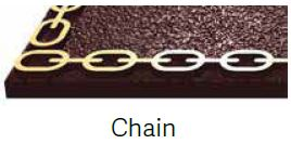 Chain Bronze Border