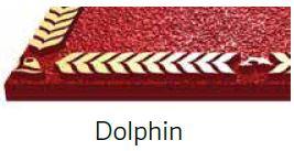 Dolphin Bronze Border