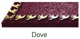 Dove Bronze Border