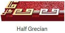 Half Grecian Bronze Border