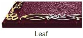 Leaf Bronze Border