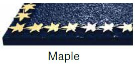 Maple Bronze Border