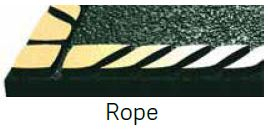 Rope Bronze Border