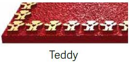 Teddy Bronze Border