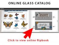 Permanent Color Glass Inlays Tecstone Granite